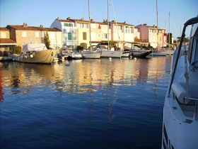 Abend in Port Grimaud