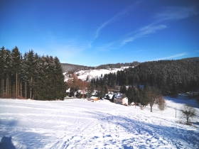 Winter am Hausberg